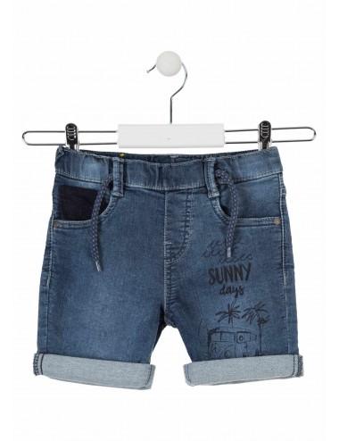 Bermudy jeansowe dla chłopca