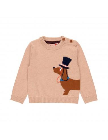 Sweter dla chłopca z Psiakiem