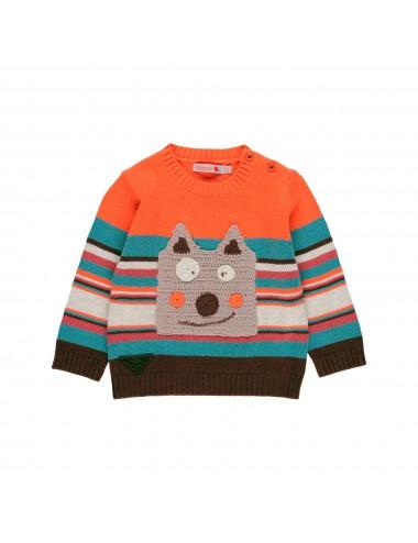 Sweter z misiem