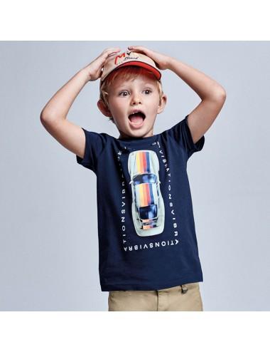 Koszulka dla chłopca AUTO